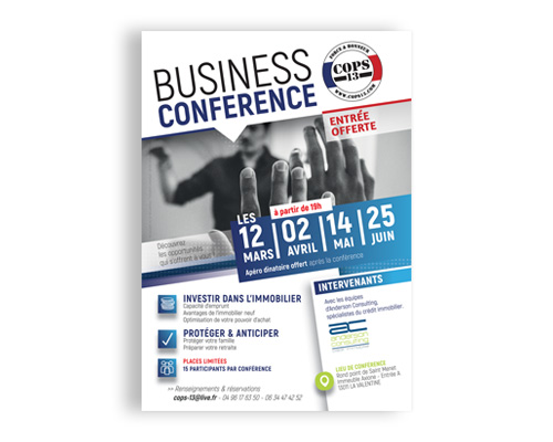 FLYER COPS 13 BUSINESS CONFERENCE