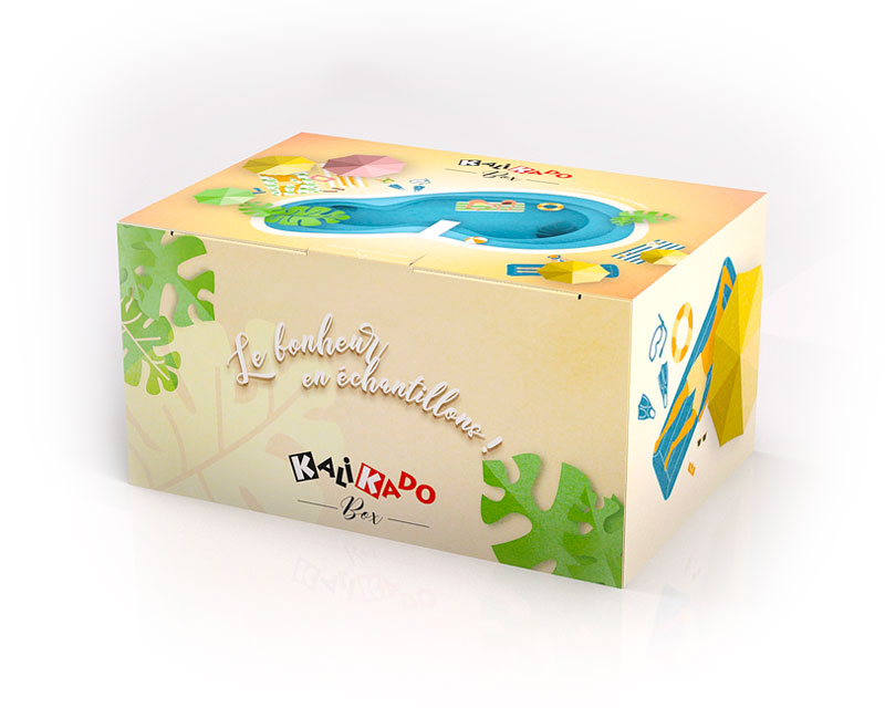PACKAGING BOX SUMMER KALIKADO